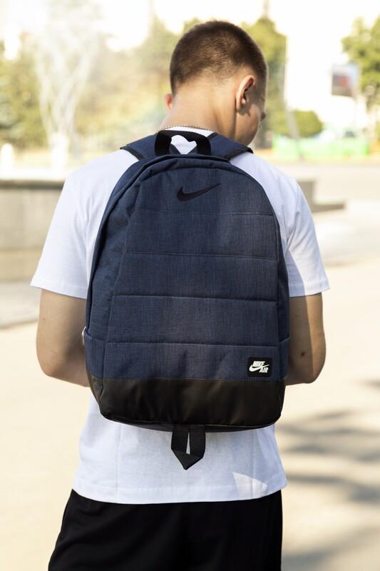 Универсальный рюкзак Матрас. Цвет: синий меланж