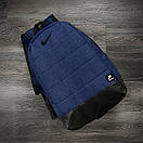 Универсальный рюкзак Матрас. Цвет: синий меланж, фото 3