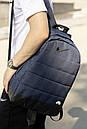 Универсальный рюкзак Матрас. Цвет: синий меланж, фото 4
