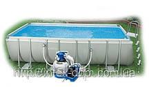Каркасный бассейн Intex 28354 песочный насос-хлорогенератор (54982) (549x274x132 cм.), фото 3