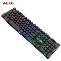 Клавиатура проводная + мышь  комплект  iMICE KM-680, фото 1