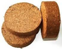 Кокосовый торф диск Коко-грунт 1 шт. Растворяеся до 1 л.