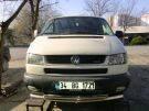 Защита переднего бампера Volkswagen Т4 двойной ус