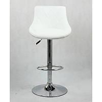 Стул высокий для визажиста барный мягкий стульчик на высокой помпе визажные стулья для бровистов HC 1054W