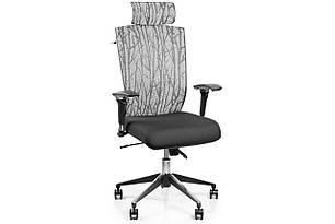 Кресло Barsky Eco Серо-черное G-3