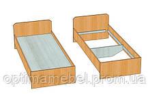 Кровать односпальная 1,9*0,8 ЭКОНОМ для баз отдыха Мелитополь