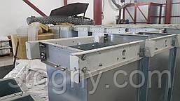 Транспортер скребковий ланцюгової зерновий горизонтальний з підйомною секцією, фото 3