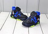 Демисезонные детские ботинки для мальчиков, фото 2