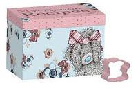 Коробка для рецептов с формой для печенья мишка Тедди Me To You