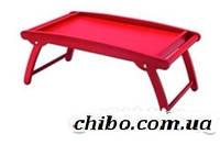 Поднос-столик на ножках, красный, 61 х 32 см C5080