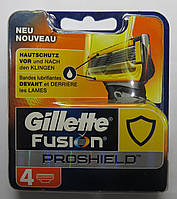 Картриджи Gillette Fusion ProShield  Оригинал 4 шт в упаковке производство Германия, фото 1