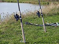 Фидерное удилище Winner 2,7 м с катушкой FS 733 в сборе 2 шт. Рыболовный набор для фидерной ловли