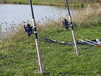Фідерне вудилище Winner 2,7 м з котушкою FS 733 в зборі 2шт Рибальський набір для фідерної ловлі