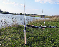 Фидерное удилище Winner 3м с катушкой FS 733 в сборе 2шт Рыболовный набор для фидерной ловли