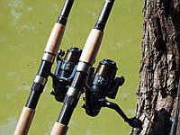 Фидерное удилище Winner 3,3 м с катушкой FS 733 в сборе 2шт Рыболовный набор для фидерной ловли