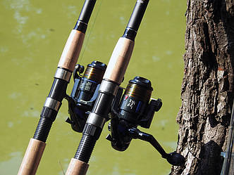 Фідерне вудилище Winner 3,3 м з котушкою FS 733 в зборі 2шт Рибальський набір для фідерної ловлі
