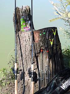 Фідерне вудилище Winner 3,6 м з котушкою FS 733 в зборі 2шт Рибальський набір для фідерної ловлі