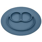 Тарелка-коврик синий