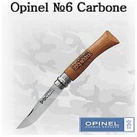 Opinel №6 Carbone, туристический складной нож