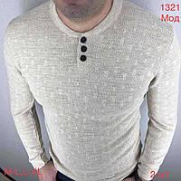 """Джемпер мужской стильный полушерсть, размеры M-XL (2цв) """"EMRE"""" недорого от прямого поставщика"""