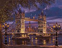 """Набор для вышивания бисером (на подрамнике) """"Лондонский мост"""""""