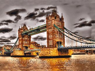 """Набор для вышивания бисером (на подрамнике) """"Лондонский мост-2"""""""