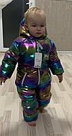 Дитячий зимовий комбінезон.