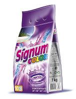 Стиральный порошок Signum Color 7 кг