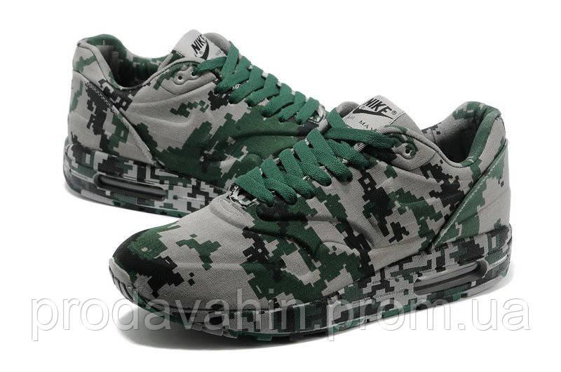 Кроссовки мужские Nike Air Max 87 VT Tweed Сamouflage 02М