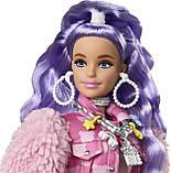 Кукла Барби Экстра с сиреневыми волосами GXF08, фото 3