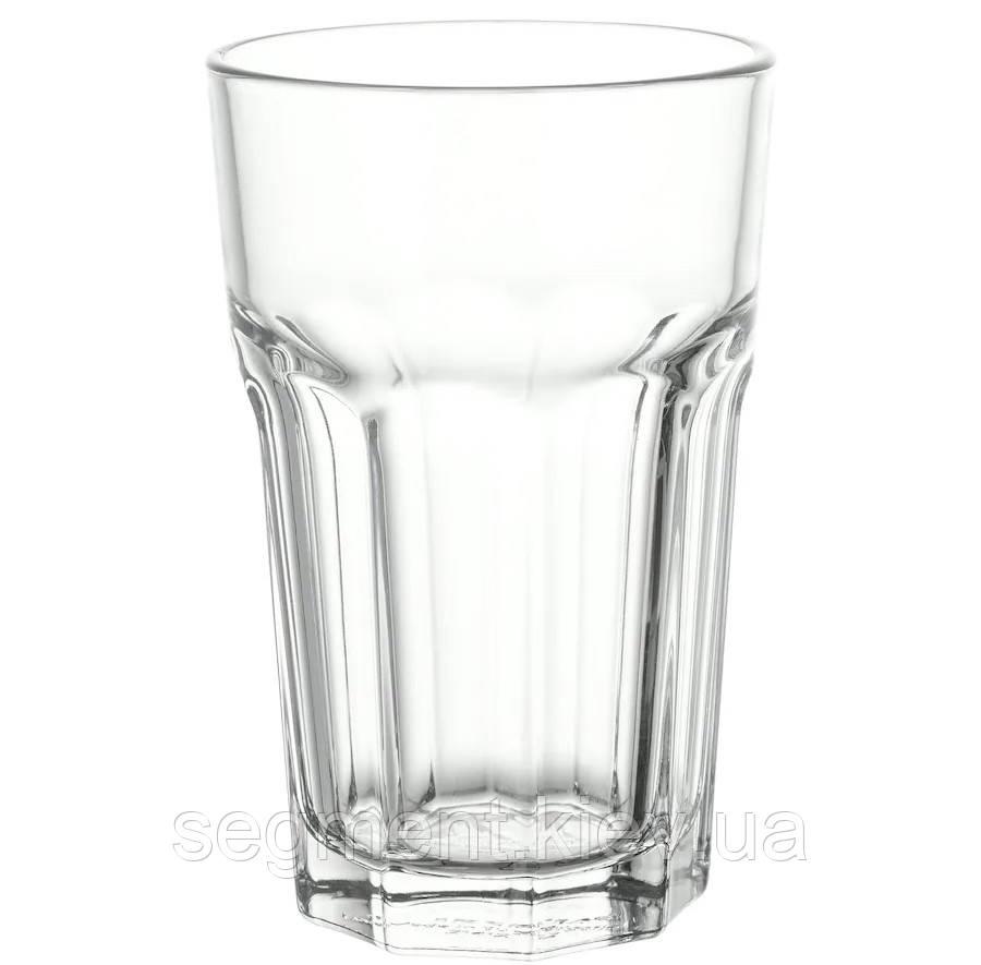 Склянка, прозоре скло 35 сл.