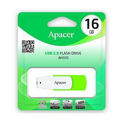 Флешка 16Gb Apacer AH335 Green USB 2.0