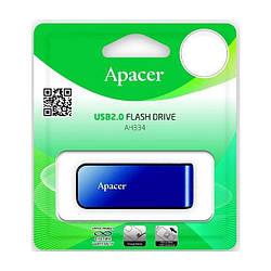 Флешка Apacer 32Gb AH334 Blue USB 2.0