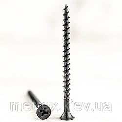 Саморез Кельнер гипсокартонный по дереву 4.8х120 мм фосфатированный Koelner, 200 шт.