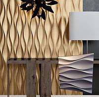 """Гіпсова 3d панелі для стін """"Бутони"""" (декоративна стінова 3d панель)"""