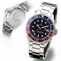 Чоловічі годинники Steinhart Ocean One GMT BLUE-RED 103-0835, фото 1