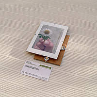 Антирама бюджетная 90х130мм антирамка стеклянная безбагетная клямерная рама рамка-клип рамка без рамки