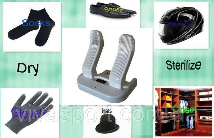 Ультрафиолетовая сушилка для обуви и стерилизатор STERYDRY SDW 100 (cушилка перчаток с дисплеем СтериДрай)