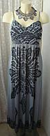 Платье женское легкое летнее сарафан стрейч бренд Elissa р.42 5144