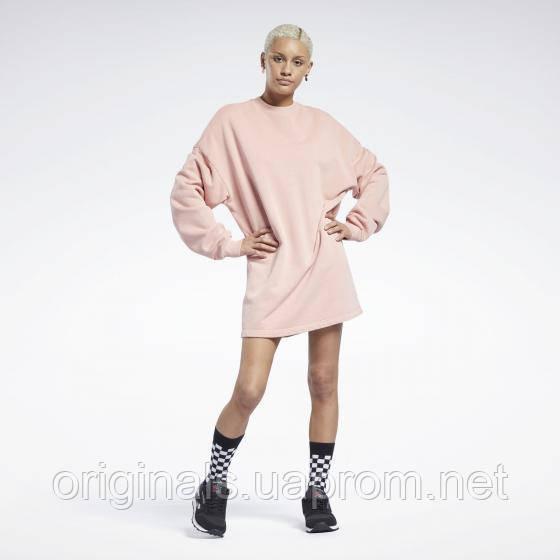 Женское платье Reebok Classics Natural Dye Crew GR0399 2021 2
