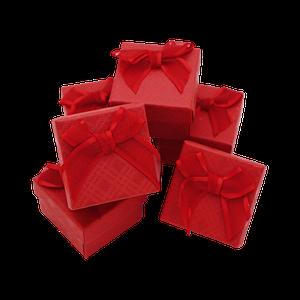 Коробки для ювелирных украшений Красный
