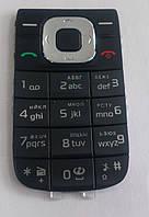 Клавиатура для Nokia 2760, темно-серый с черным /Кнопки/Клавиши /нокиа