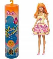 Лялька Барбі Сюрприз Кольорове перевтілення Barbie Color Reveal 7 Surprises (GTP42) (887961919509), фото 1