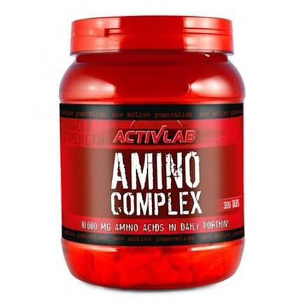 Амінокислоти Amino Complex ActivLab 300 tabs, фото 2