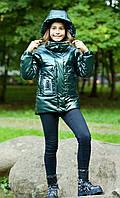 Модна курточка для дівчинки.
