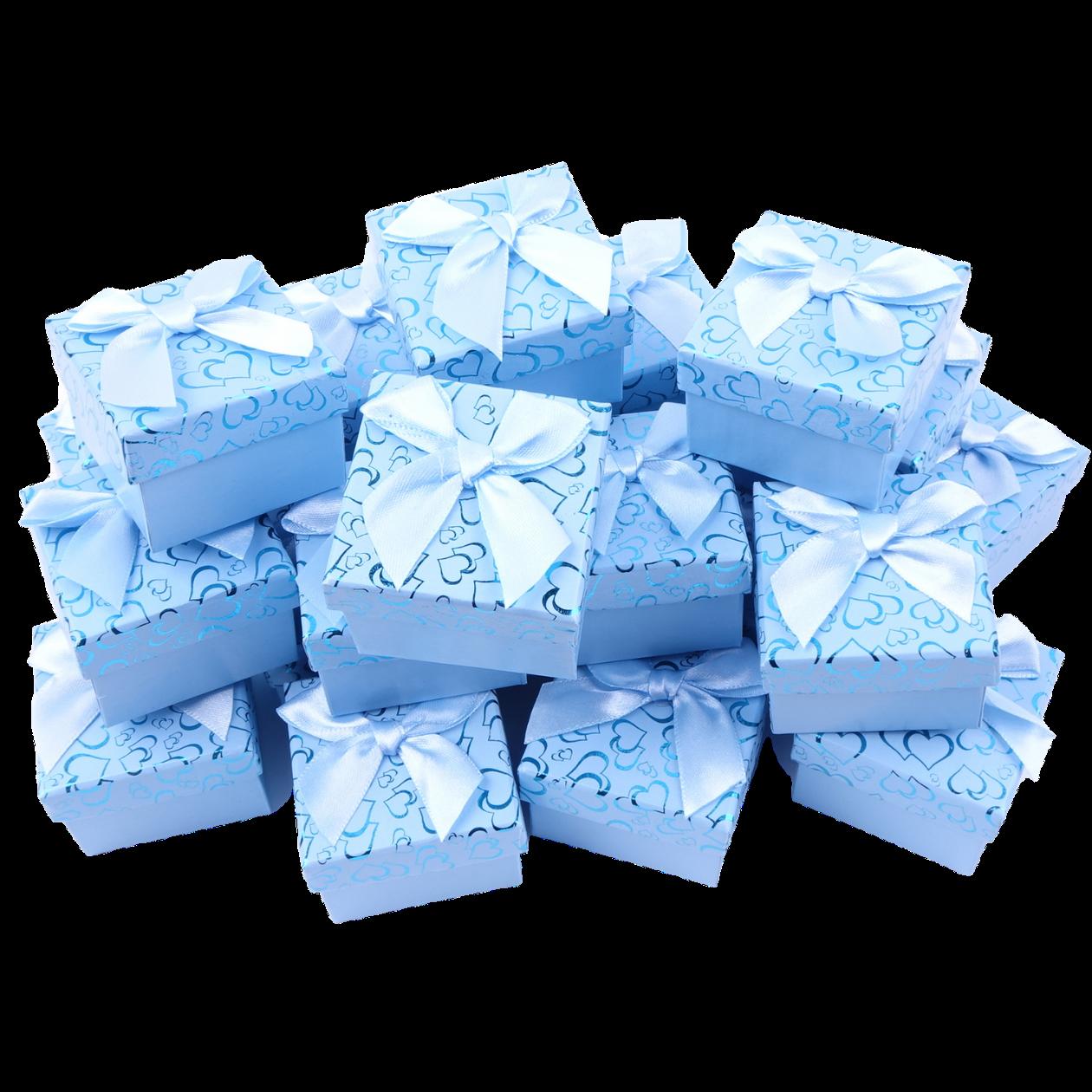 Коробки для бижутерии Голубой
