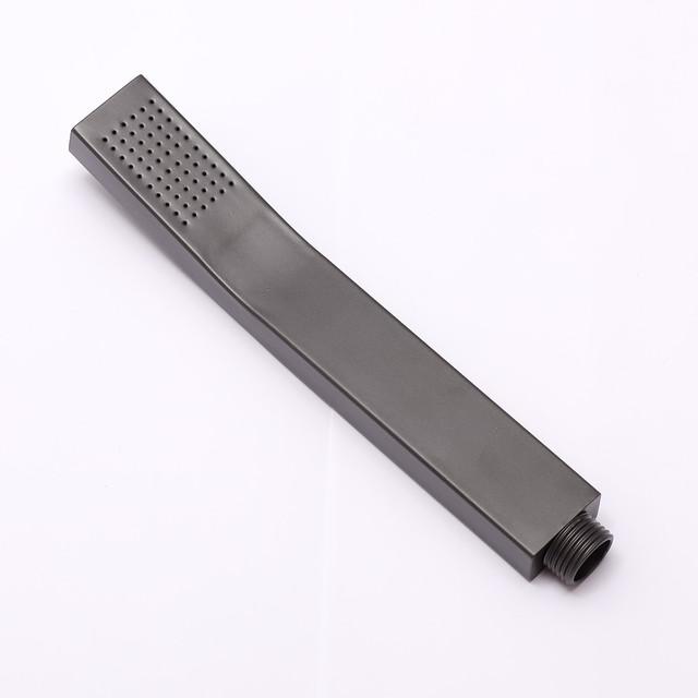 Лейка ручного душа для душевой системы WEMI SB-01 квадратной формы, выполнена из пищевого термопластика.