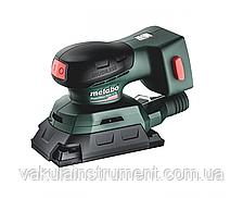 Акумуляторна вібраційна машина плоскошліфувальна Metabo PowerMaxx SRA 12 BL (каркас) (602036850)