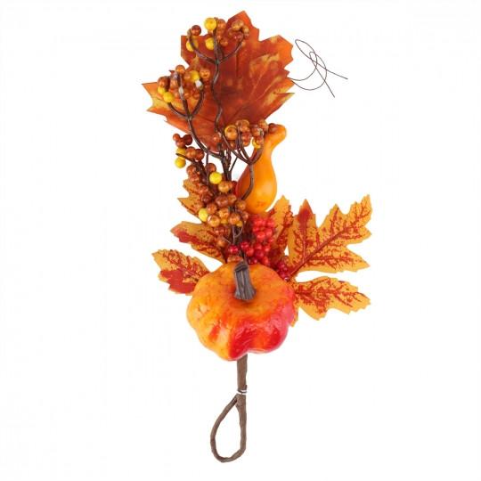 Декоративная осенняя ветвь, 30 см