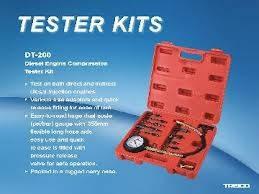 Дизельный компрессометр набор TRISKO (DT-200), фото 2